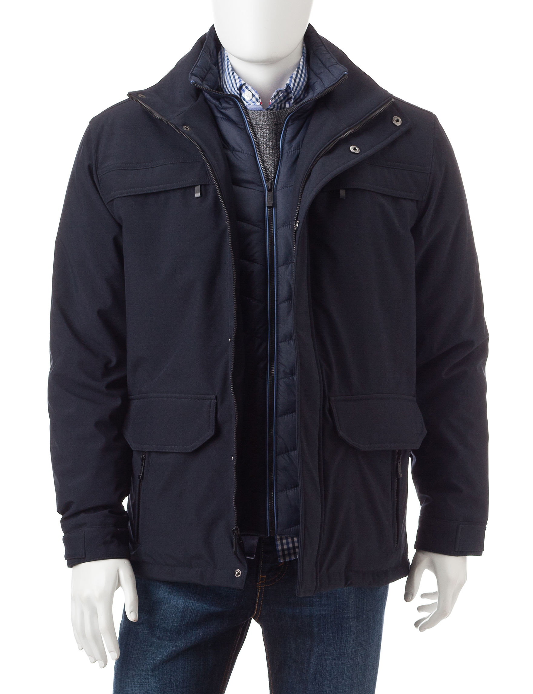 Weatherproof Navy Insulated Jackets