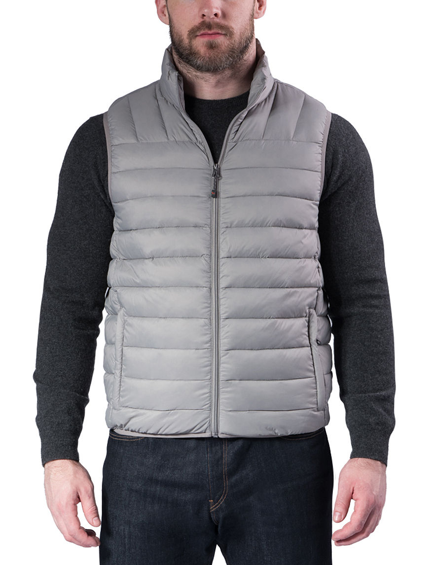 Hawke & Co. Silver Fleece & Soft Shell Jackets Puffer & Quilted Jackets