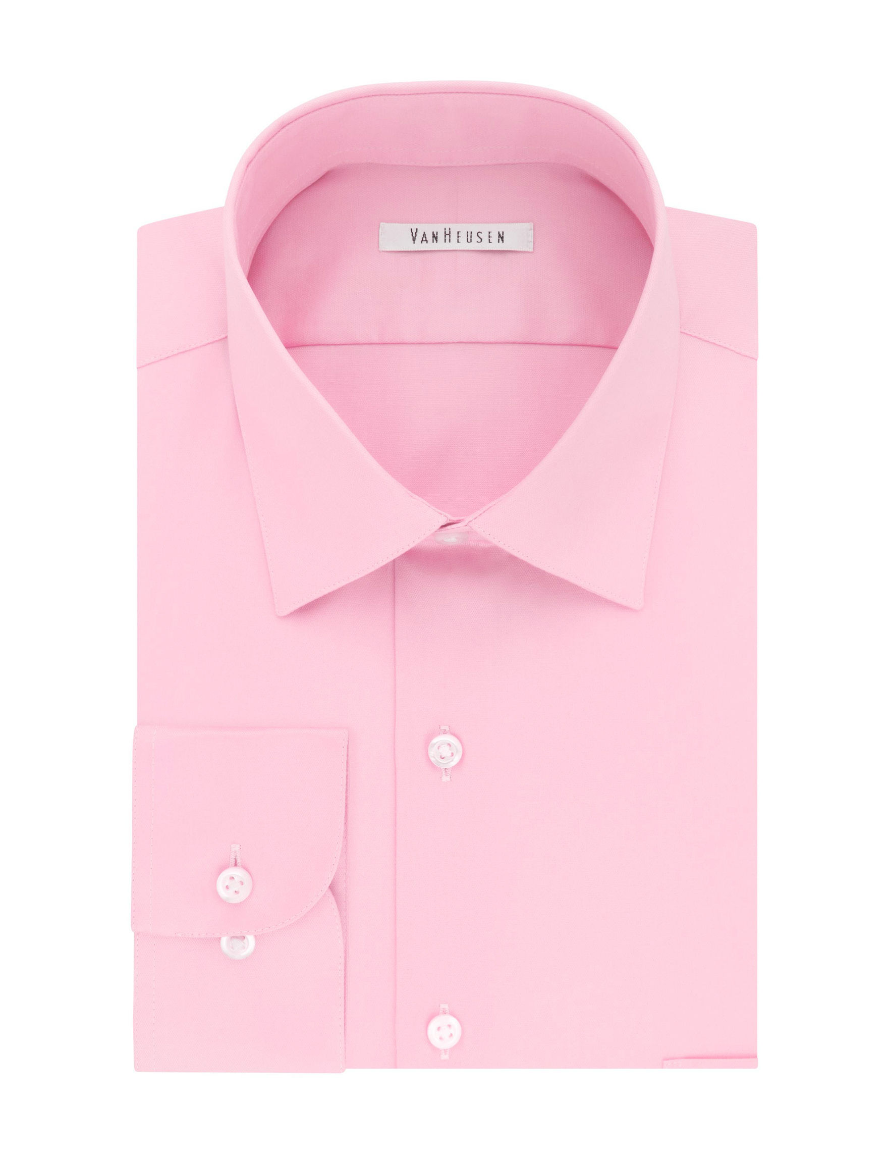 Van Heusen Pink Dress Shirts