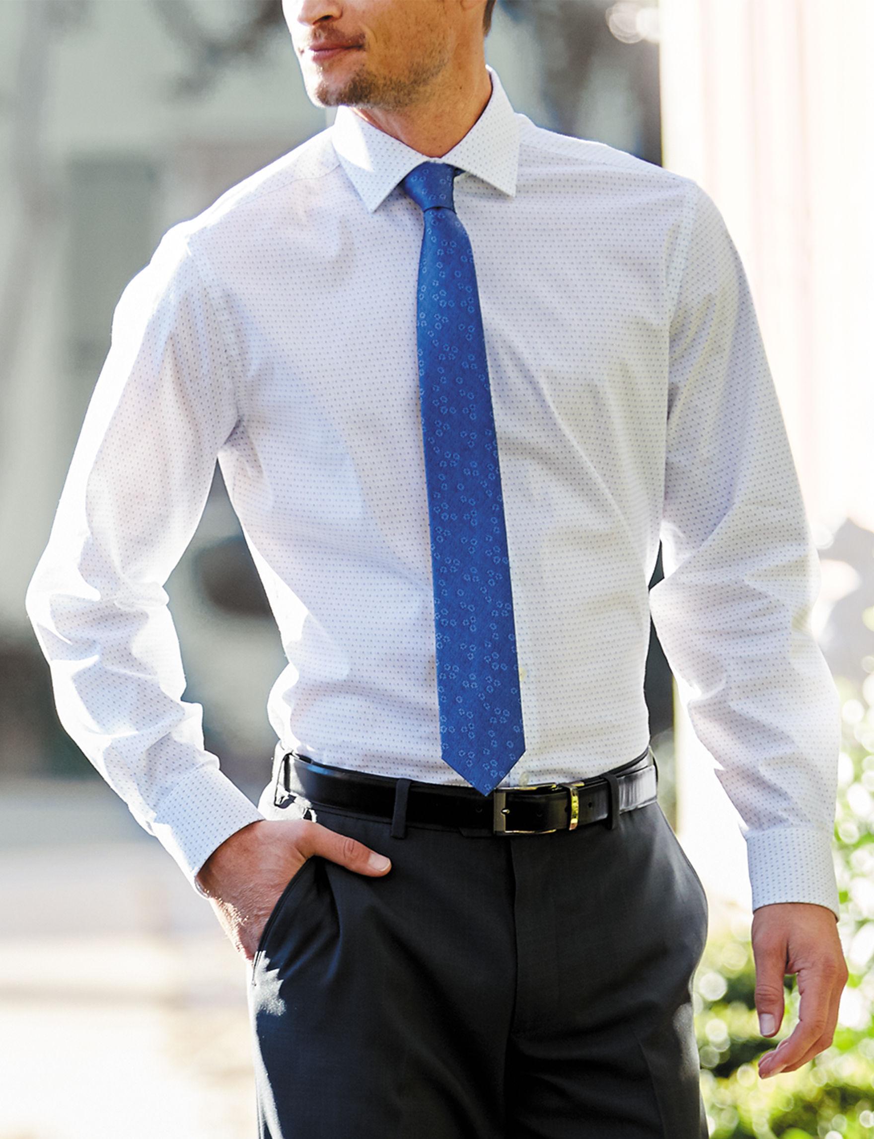 Van Heusen Blue Dress Shirts