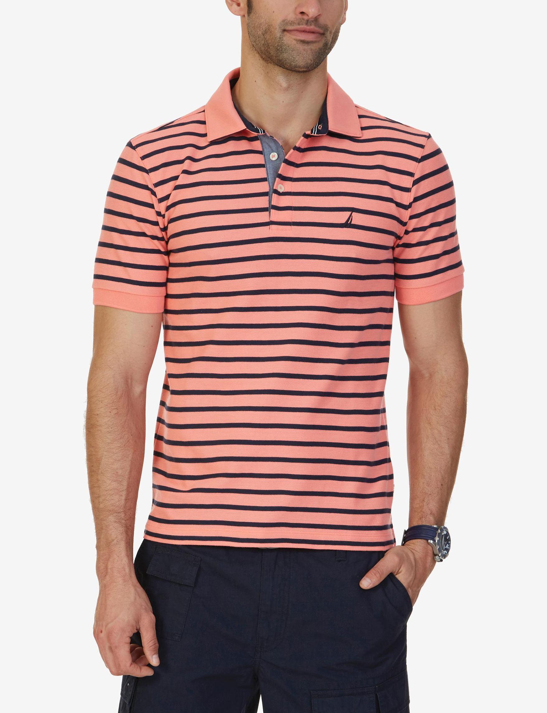 Nautica Moisture Wicking Polo Shirt Stage Stores