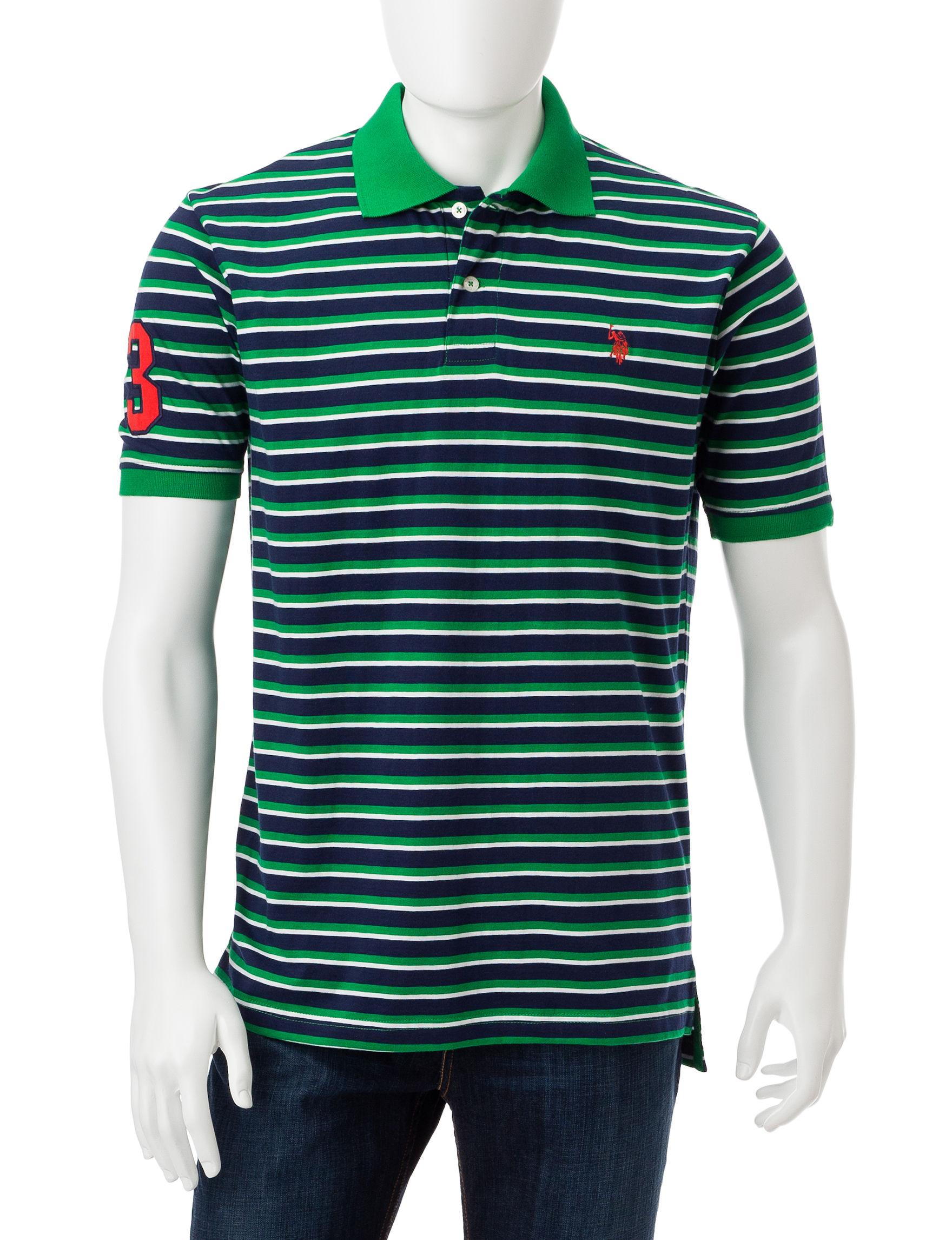 U.S. Polo Assn. Green Classic Polos