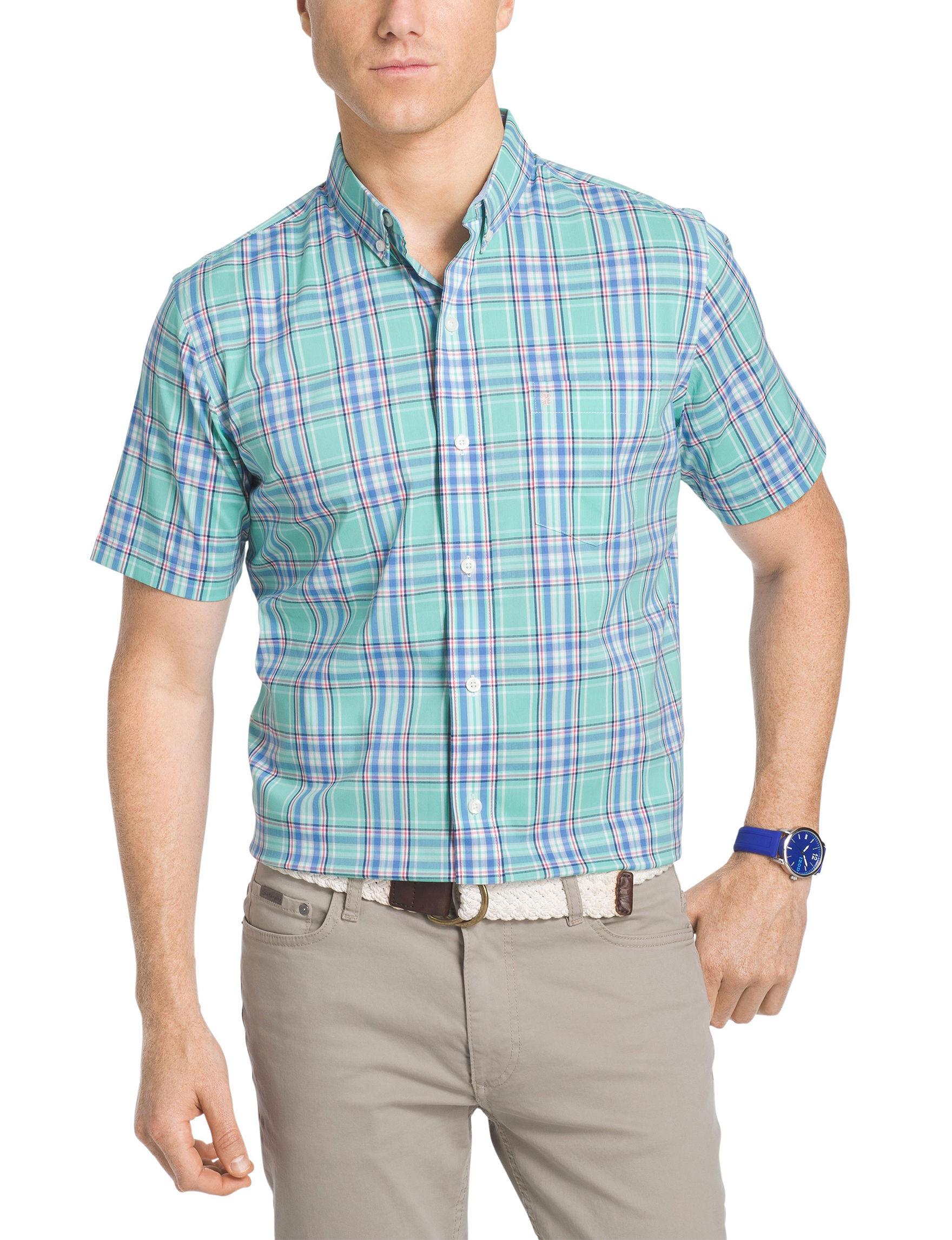 Izod Cascade Casual Button Down Shirts