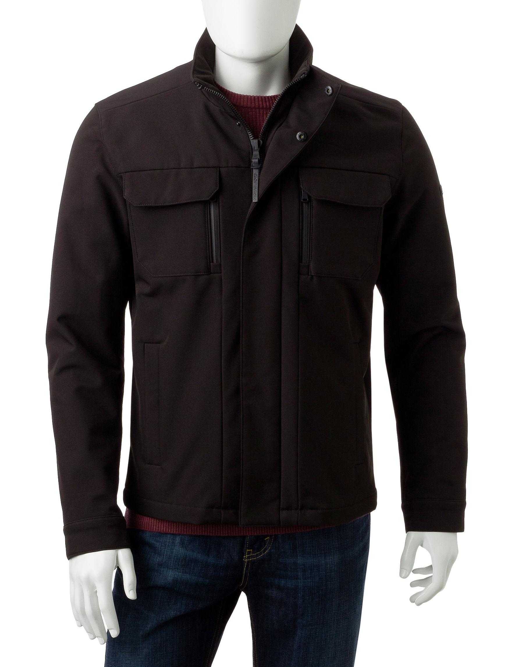 Michael Kors Black Fleece & Soft Shell Jackets