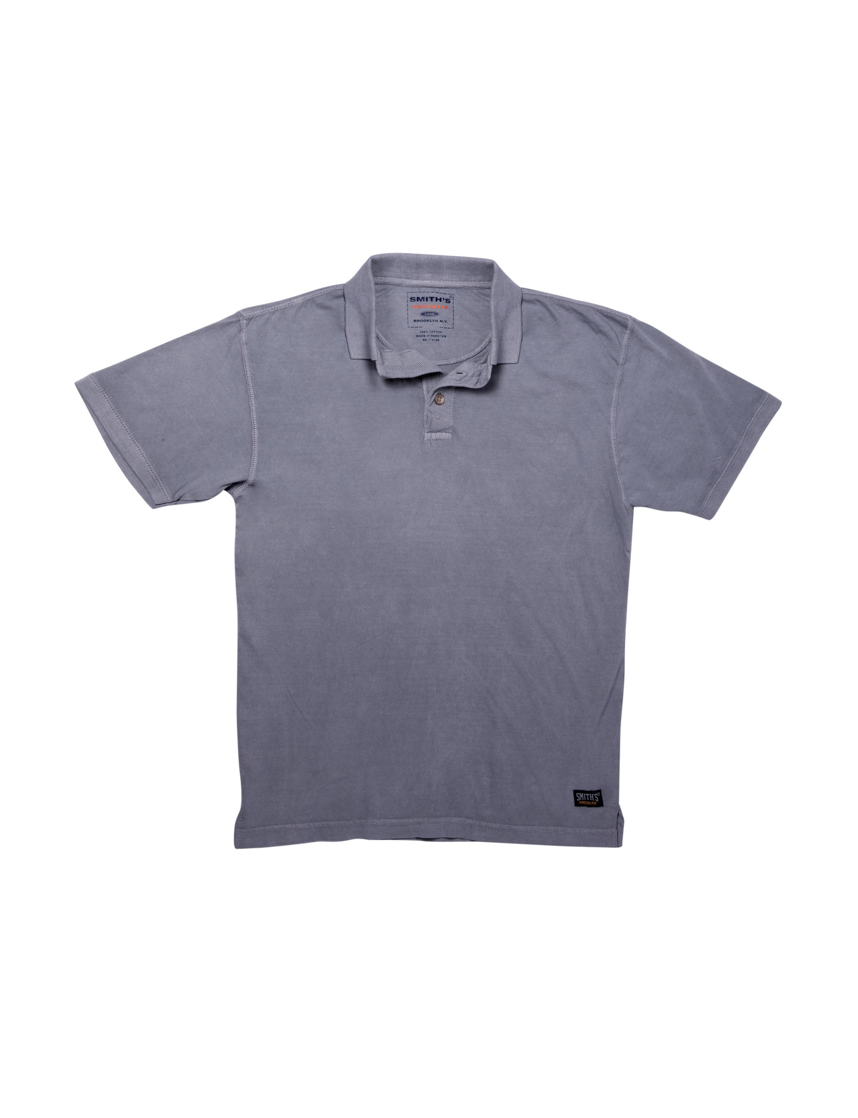 Smith's Workwear Grey Polos