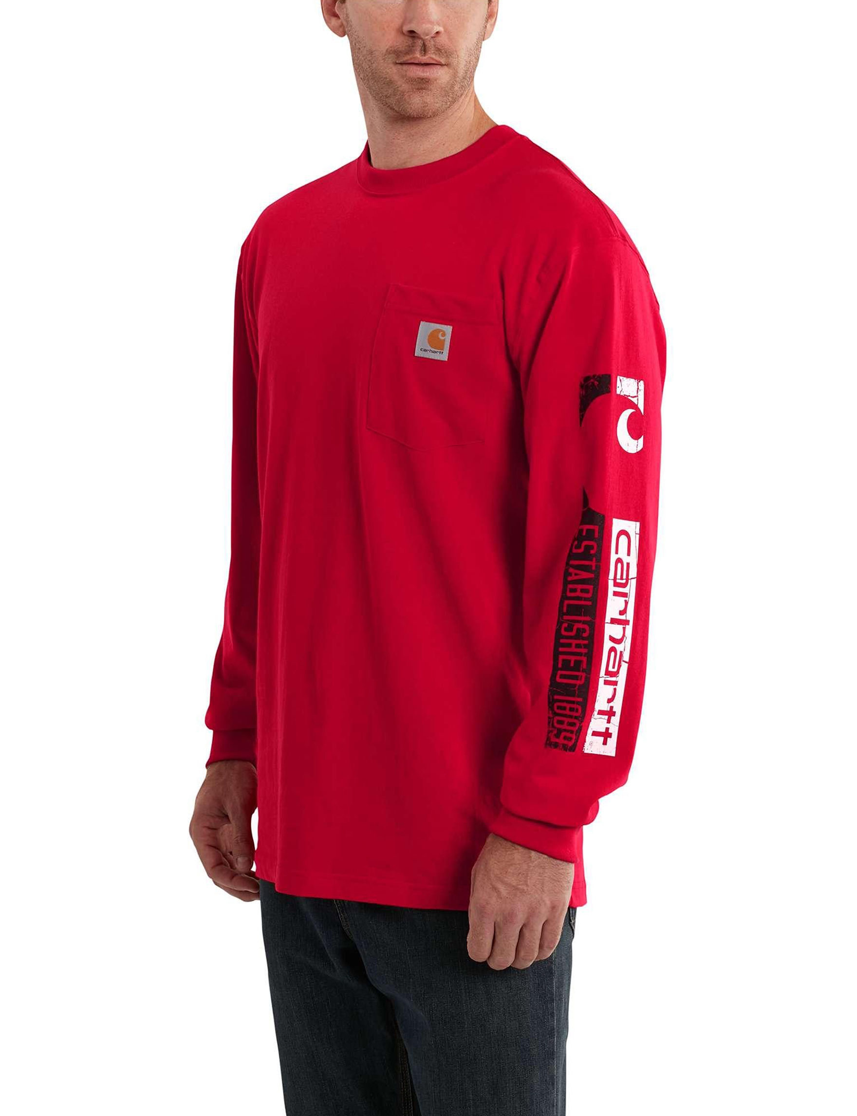 Carhartt Red Tees & Tanks