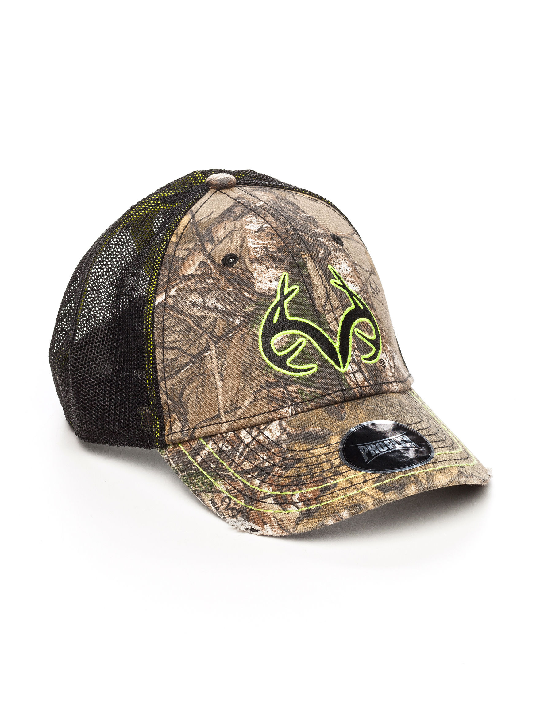 Realtree White / Silver Hats & Headwear