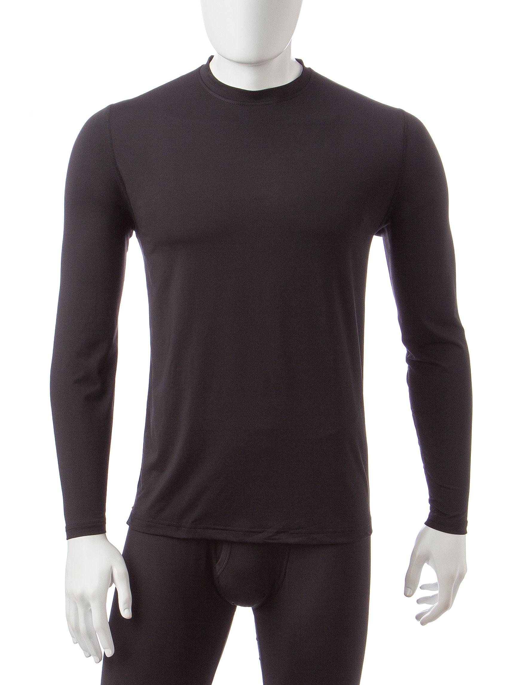 Weatherproof Black Undershirts