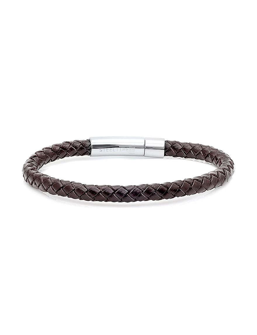 Steeltime Brown Bracelets