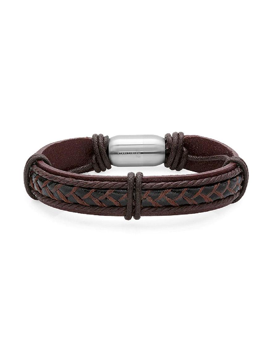 Steeltime Brown Bracelets