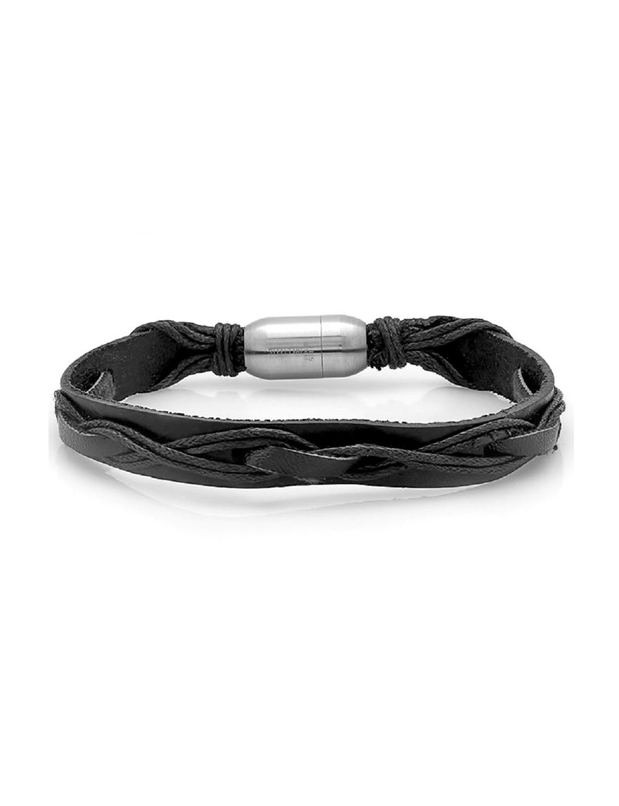 Steeltime Black Bracelets