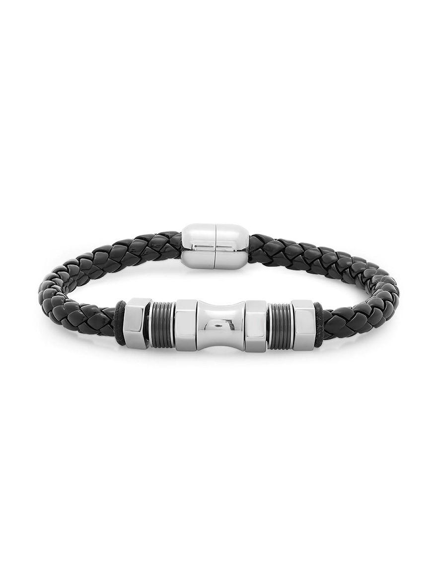 Steeltime Two Tone Bracelets