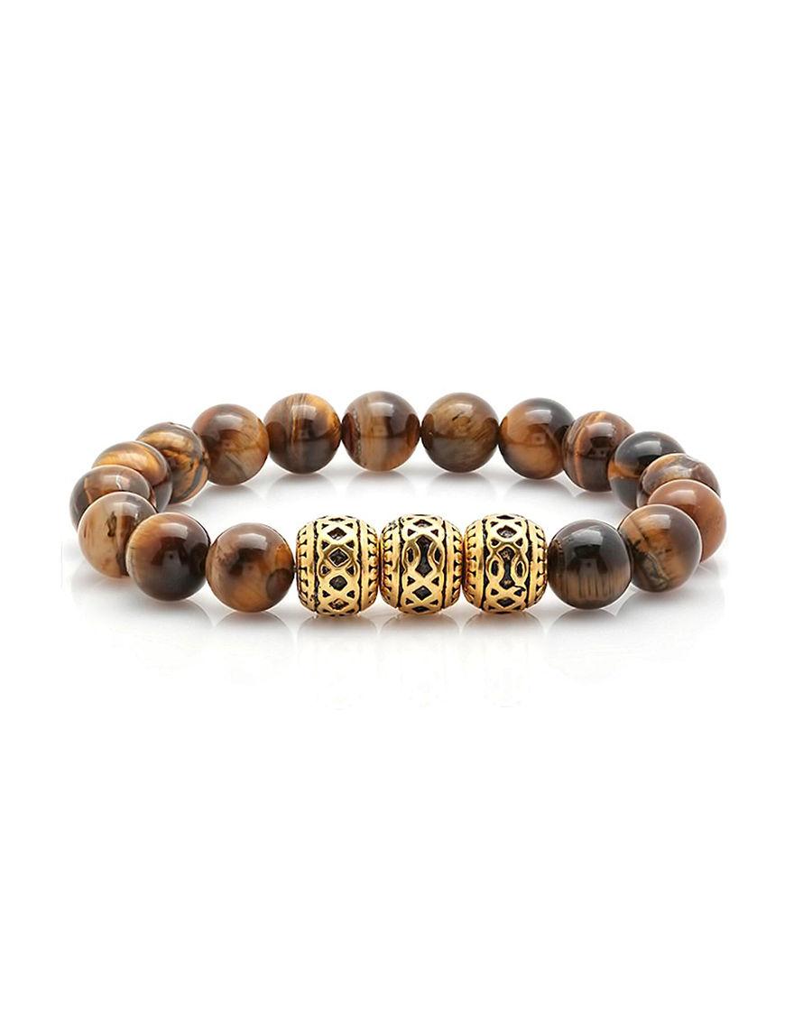 Steeltime Tiger Eye Bracelets