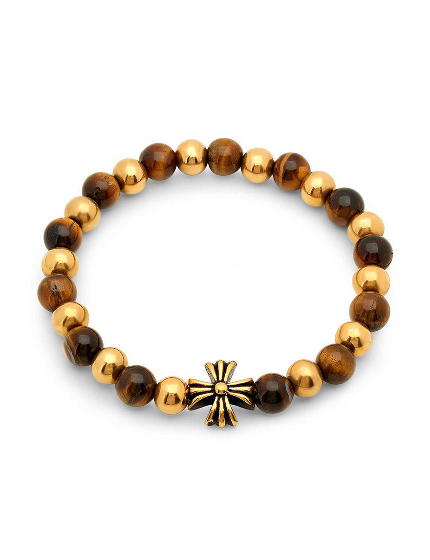 Steeltime Tiger Eye Bracelets