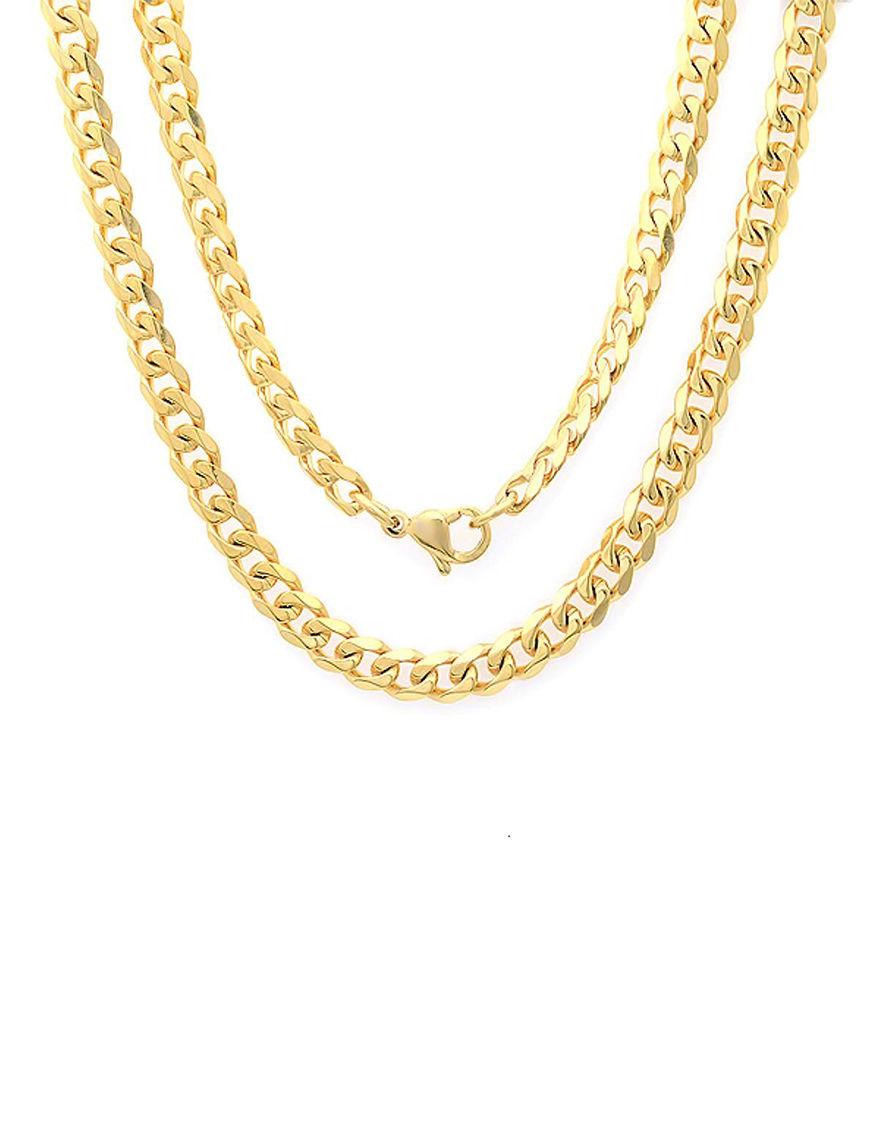 Steeltime Yellow Necklaces & Pendants