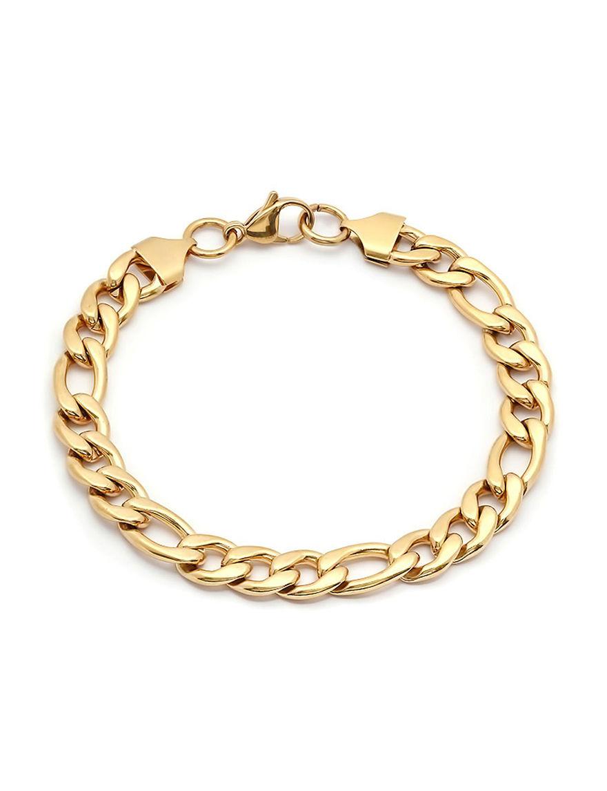 Steeltime Gold Bracelets