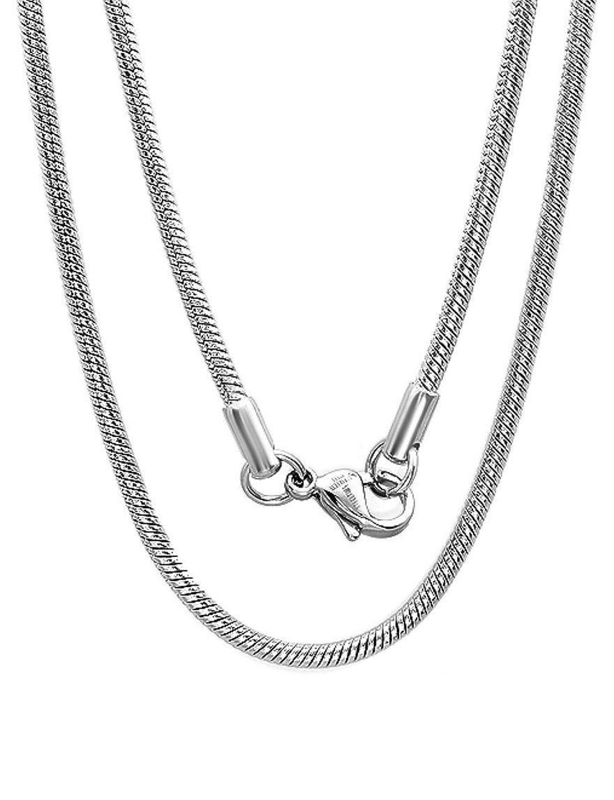 Steeltime Metal Necklaces & Pendants
