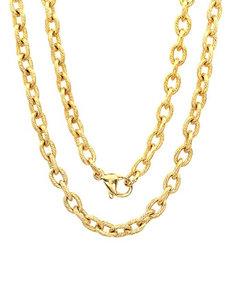 Steeltime Gold Necklaces & Pendants