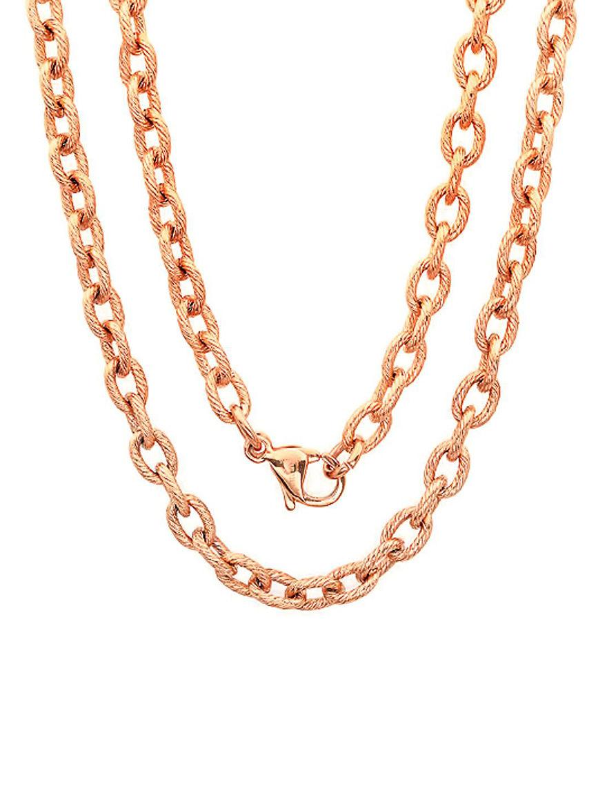 Steeltime Rose Necklaces & Pendants