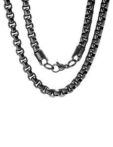 Steeltime Black Necklaces & Pendants