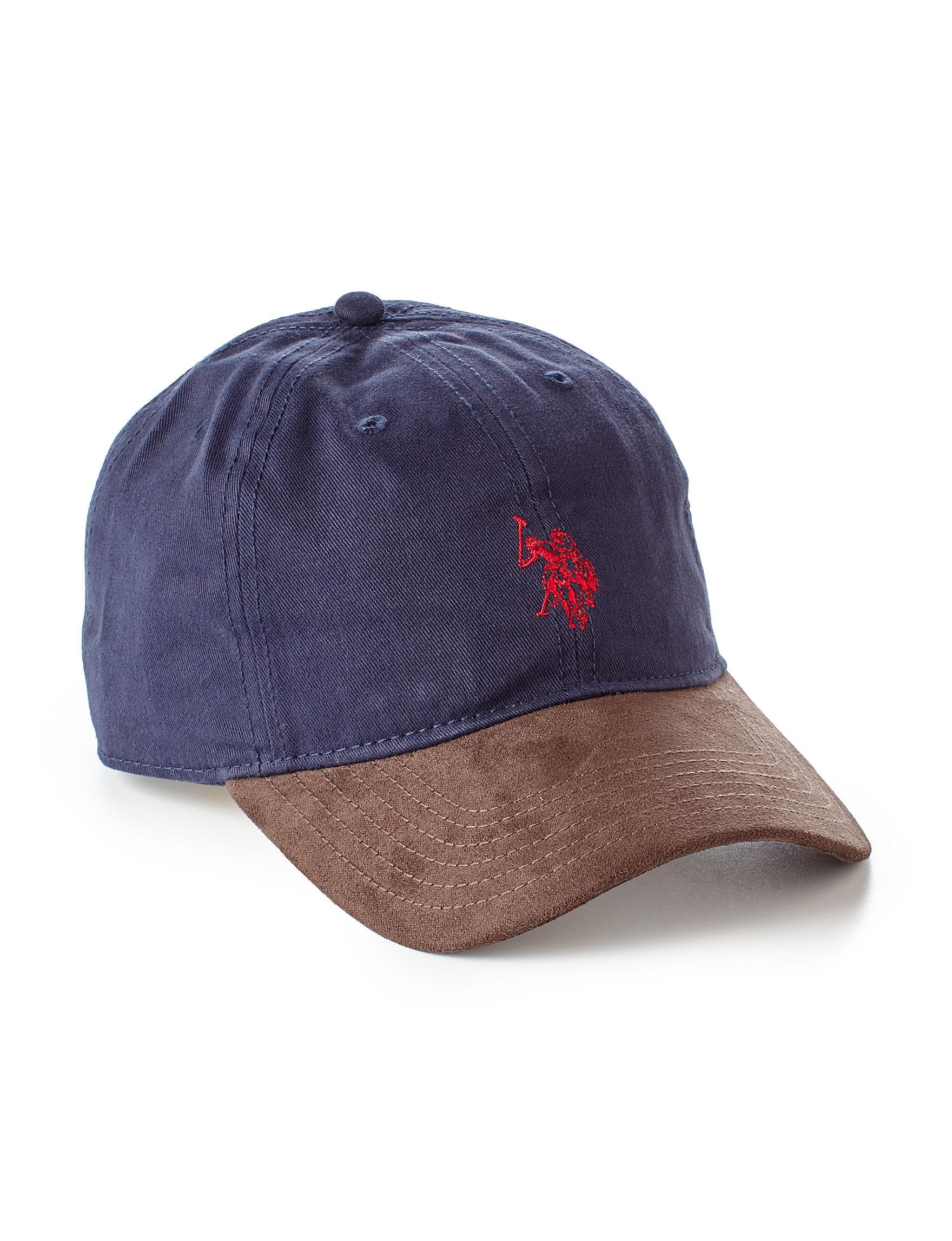 U.S. Polo Assn. Blue Hats & Headwear