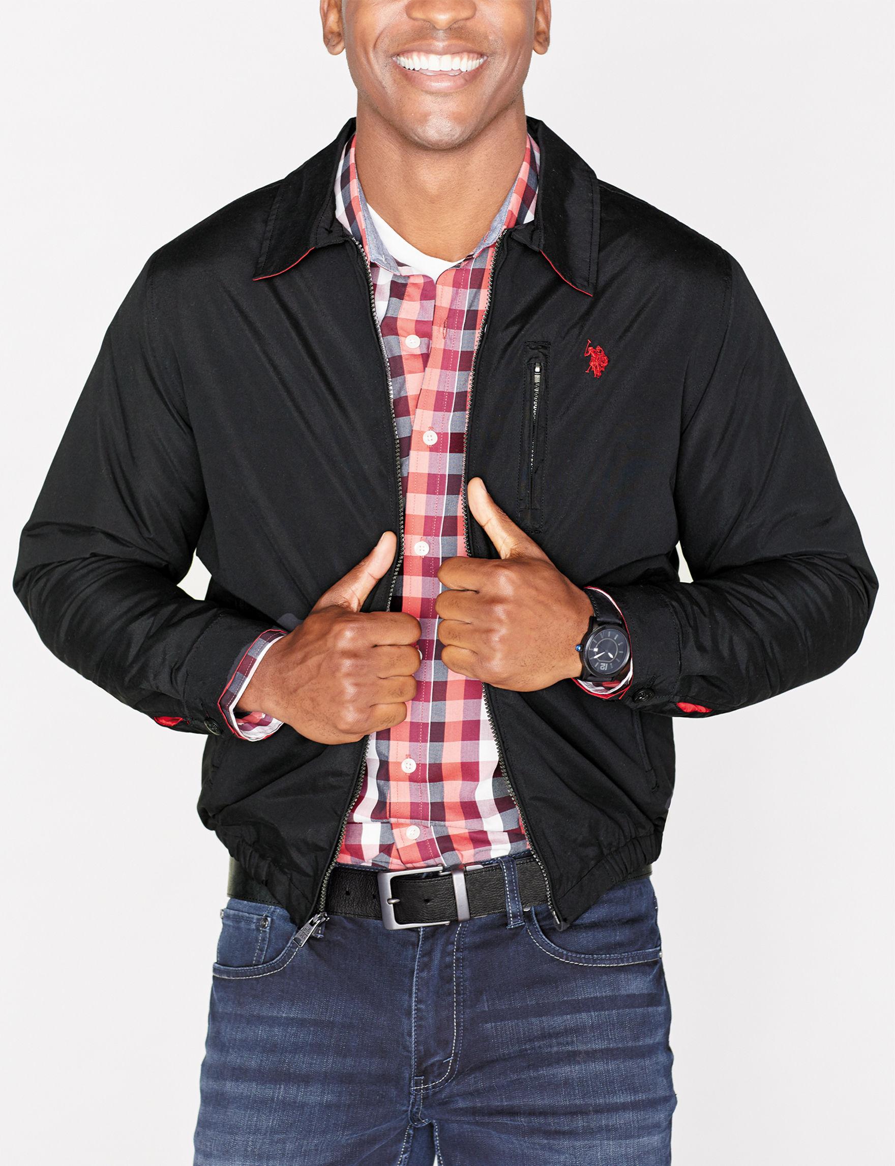 U.S. Polo Assn. Black Fleece & Soft Shell Jackets