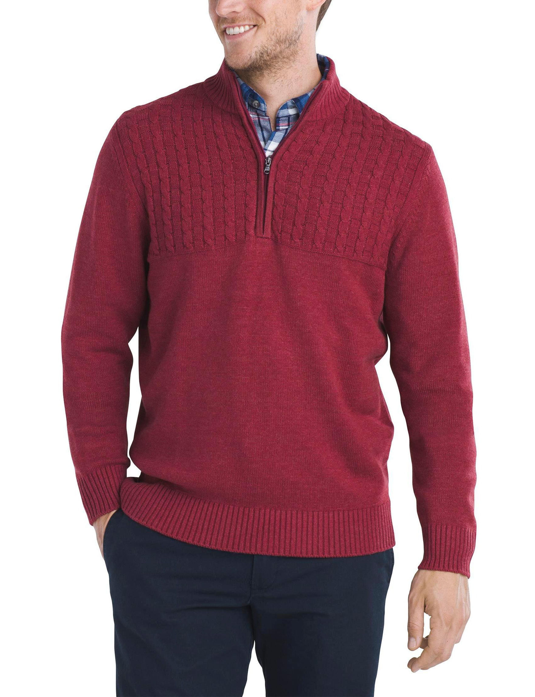 Izod Textured Knit Sweater | Stage Stores