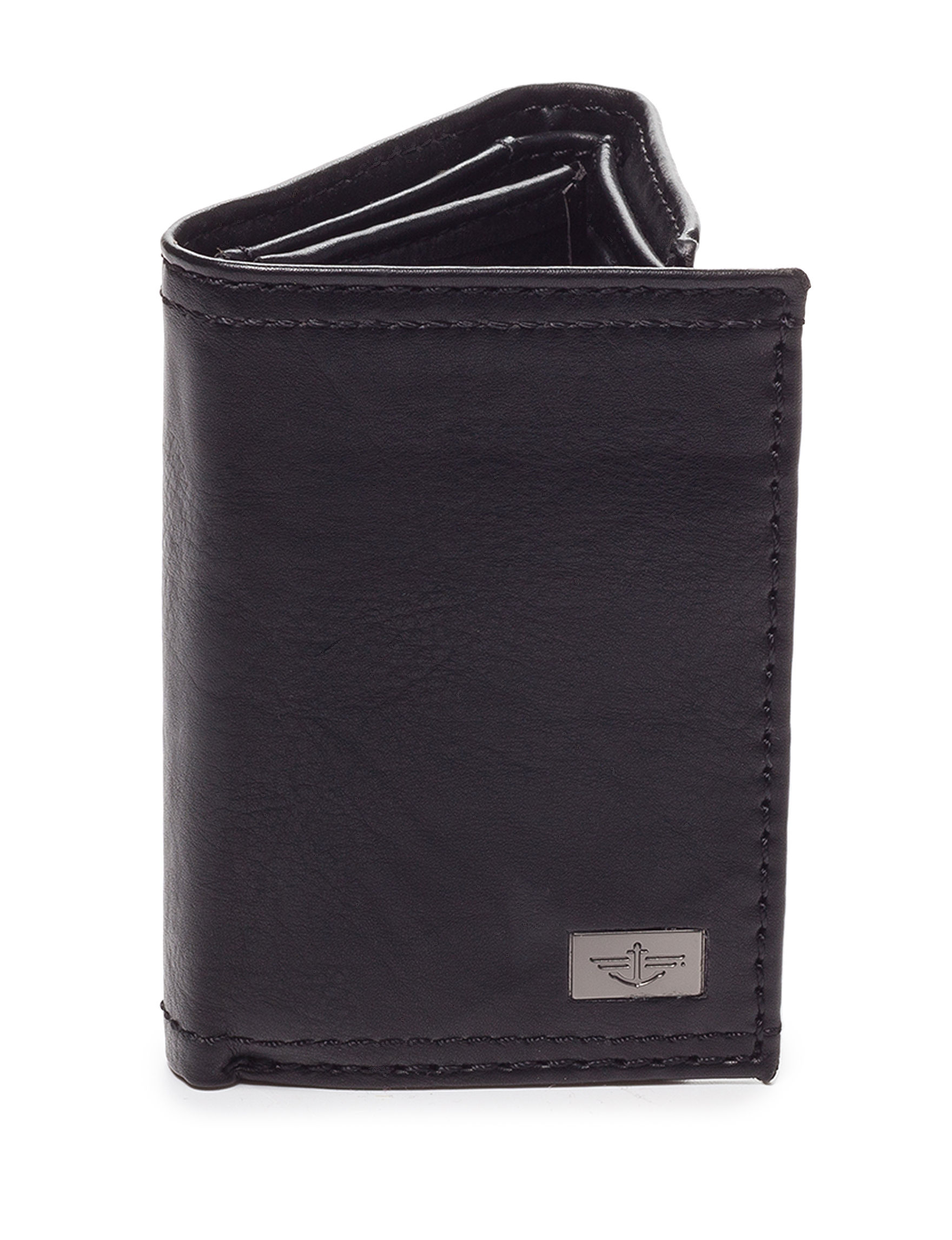 Dockers Black Tri-fold Wallets