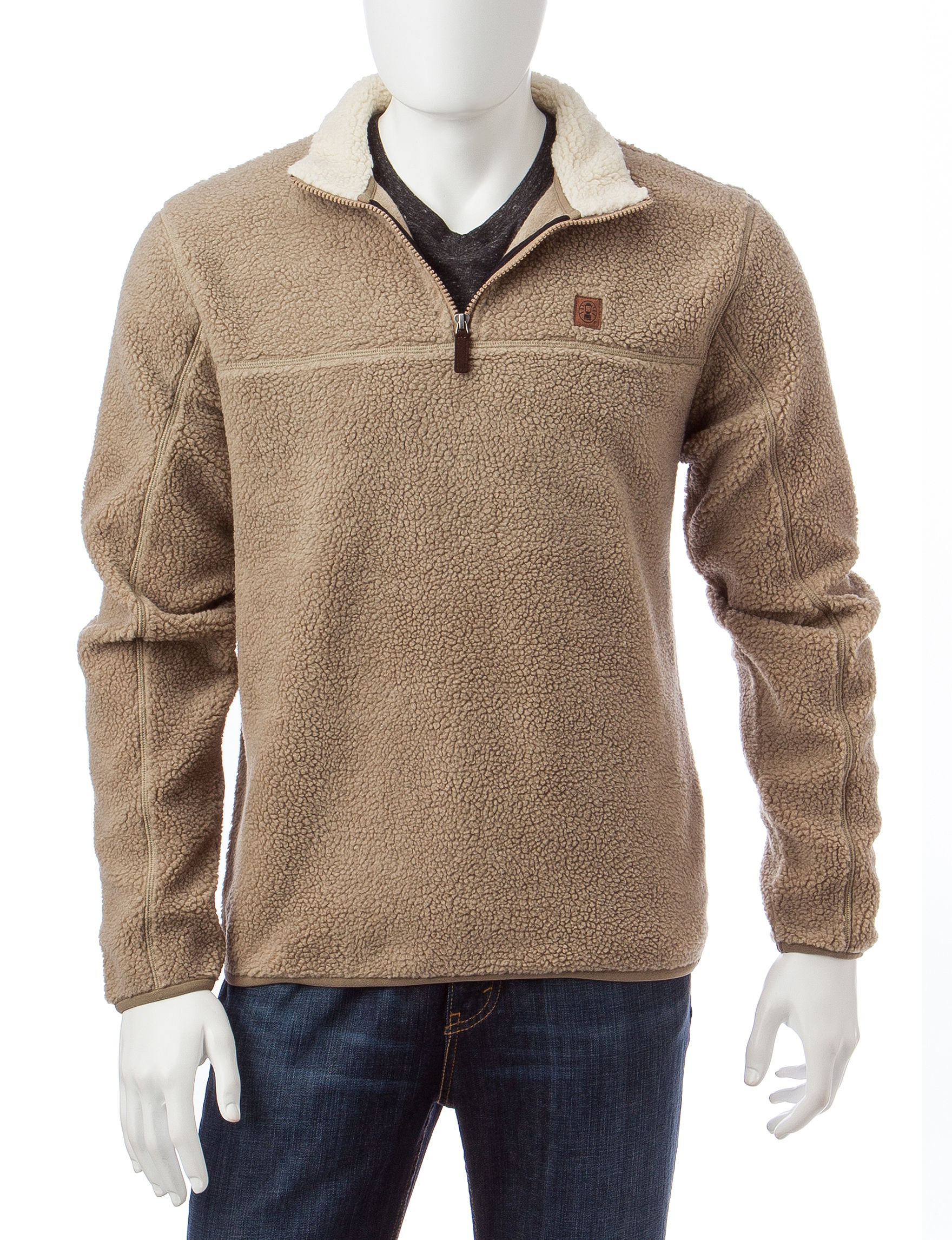 Coleman Light Brown Pull-overs