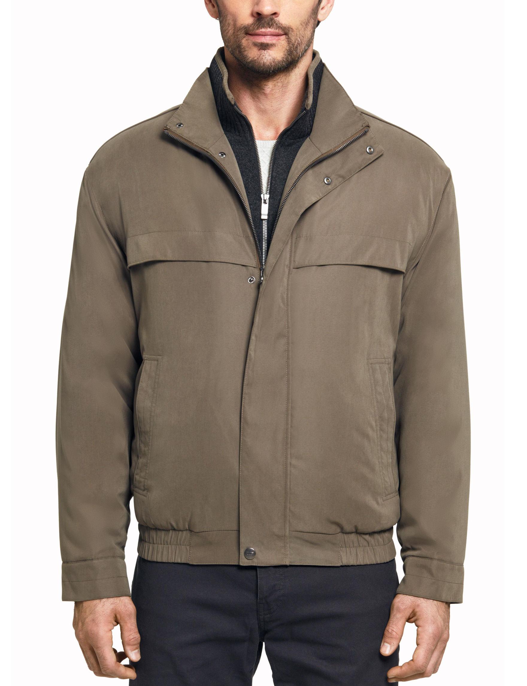 Weatherproof Brown Bomber & Moto Jackets