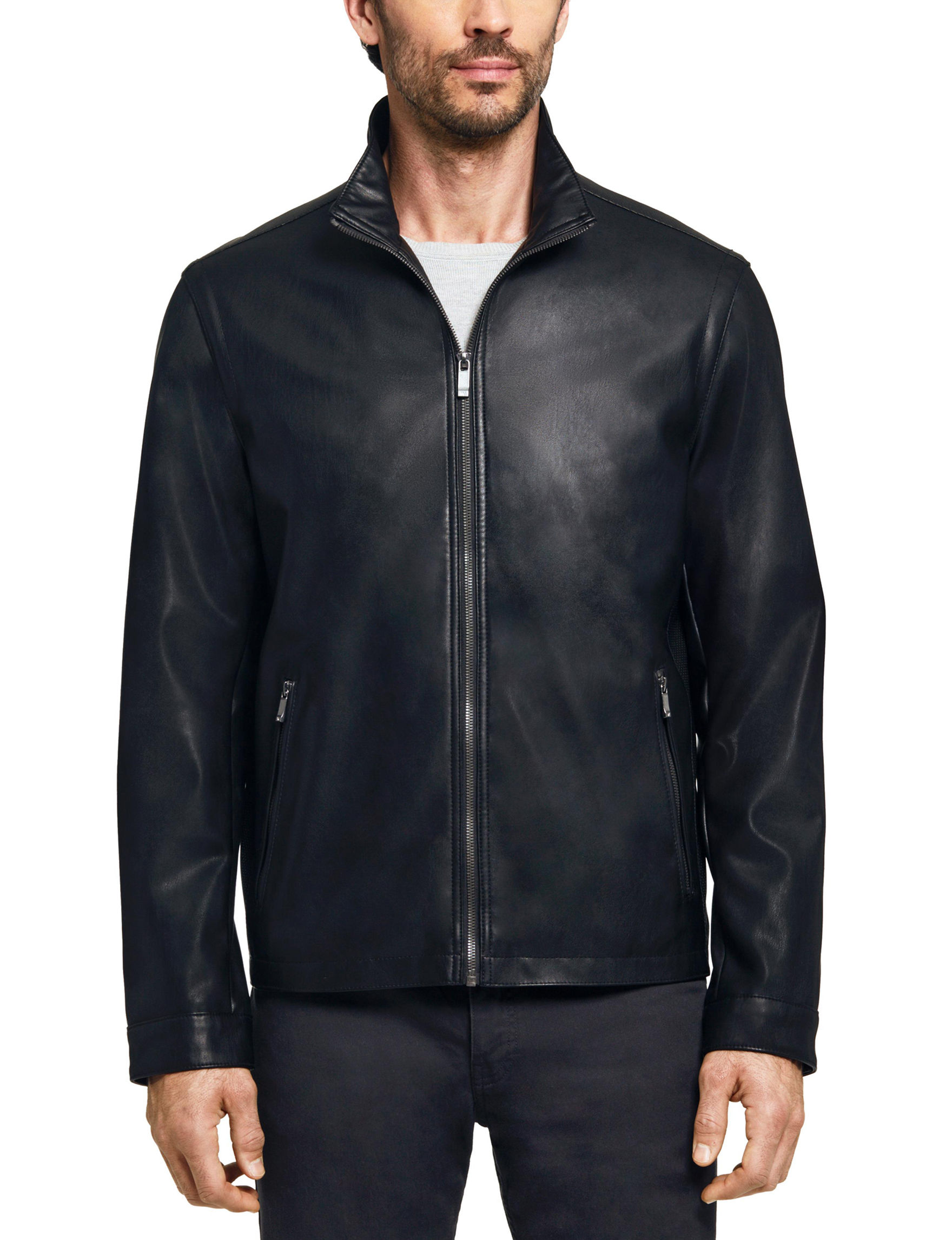 Weatherproof Black Bomber & Moto Jackets