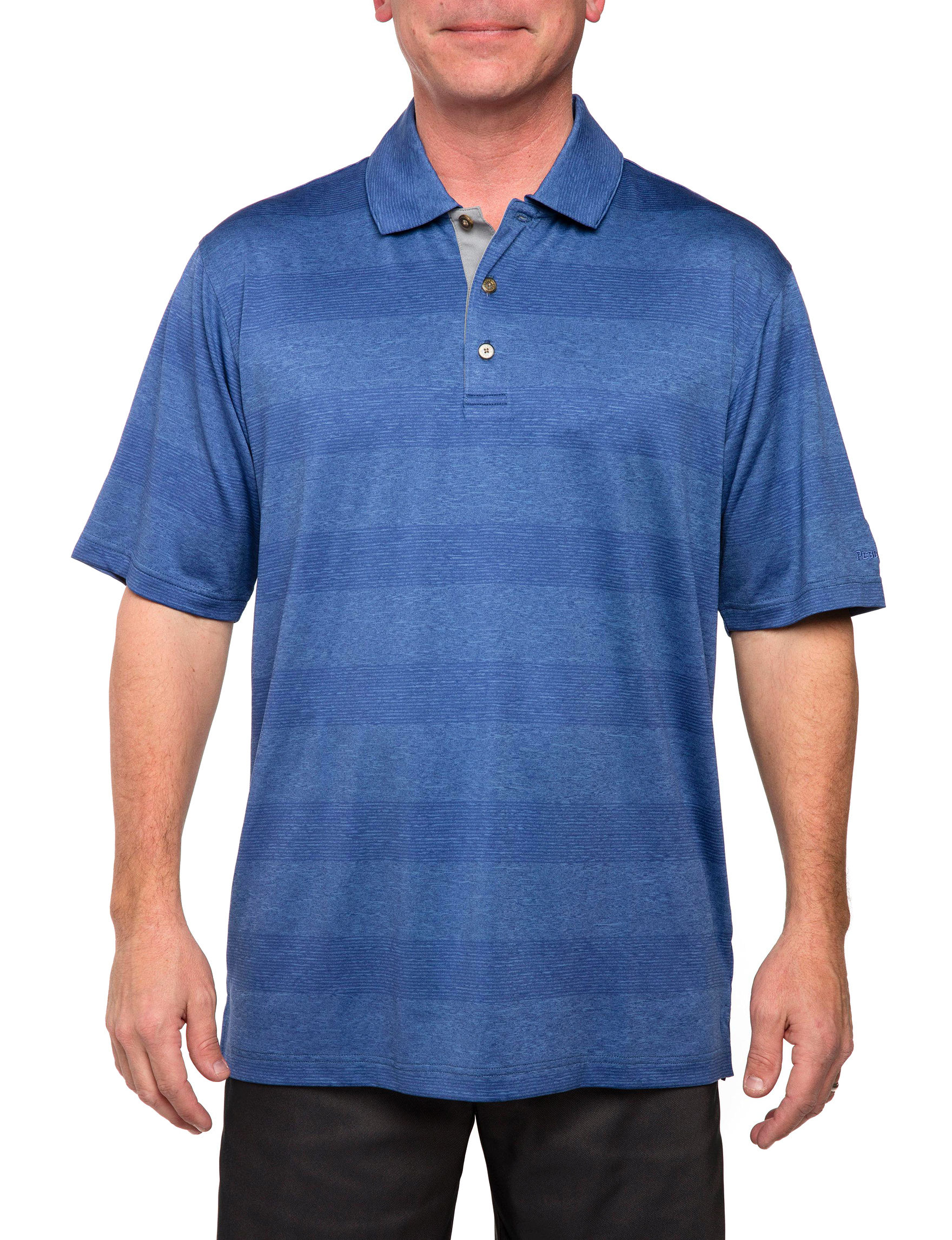 Pebble Beach Denim Polos Regular