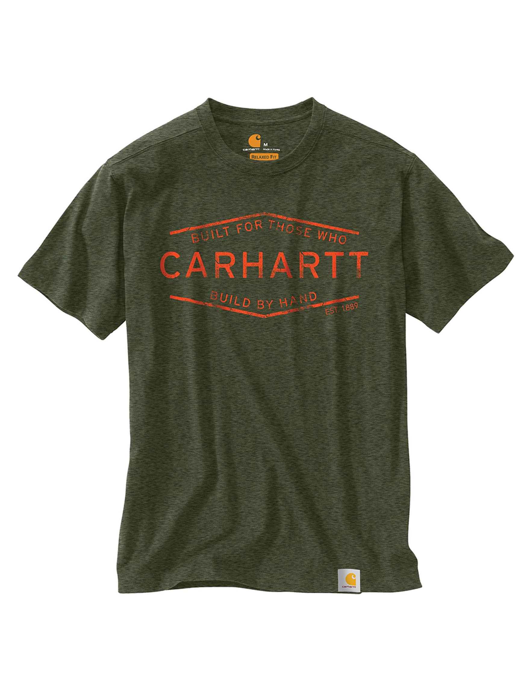 Carhartt Dark Moss Tees & Tanks