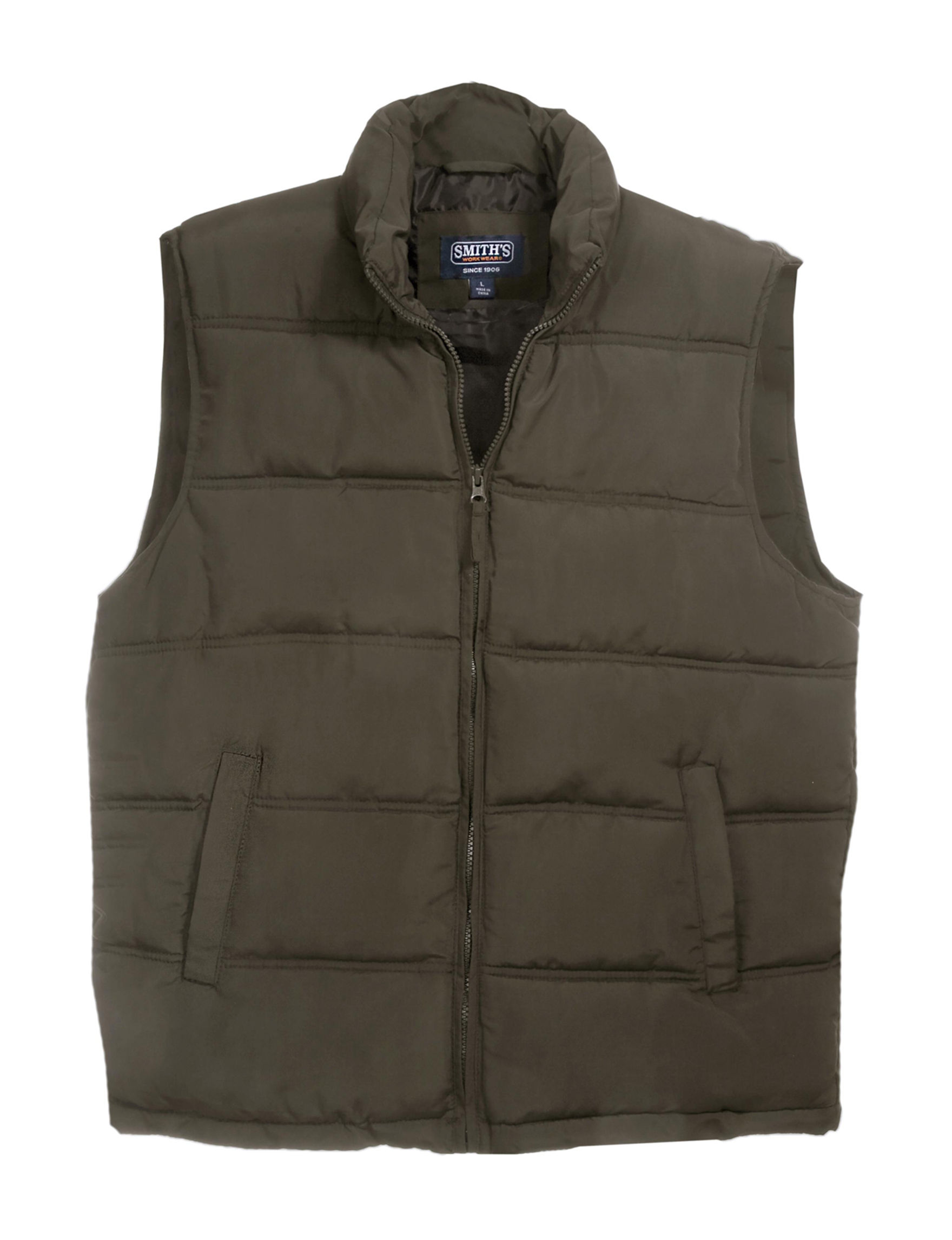 Smith's Workwear Charcoal Vests