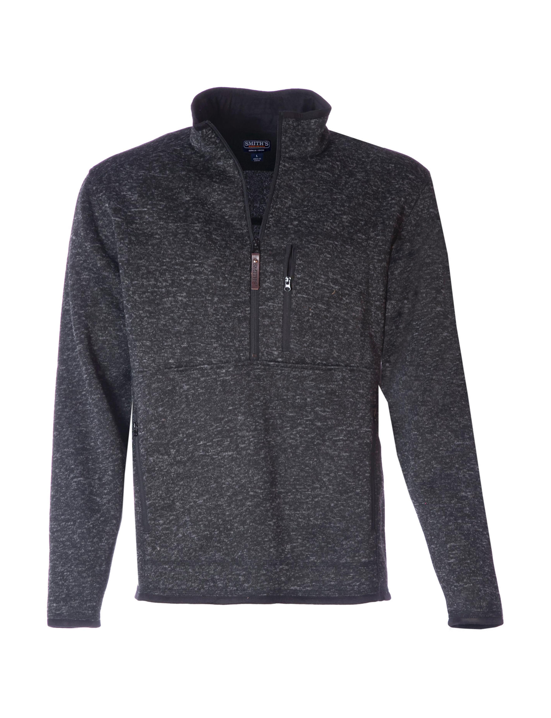 Smith's Workwear Black Fleece & Soft Shell Jackets