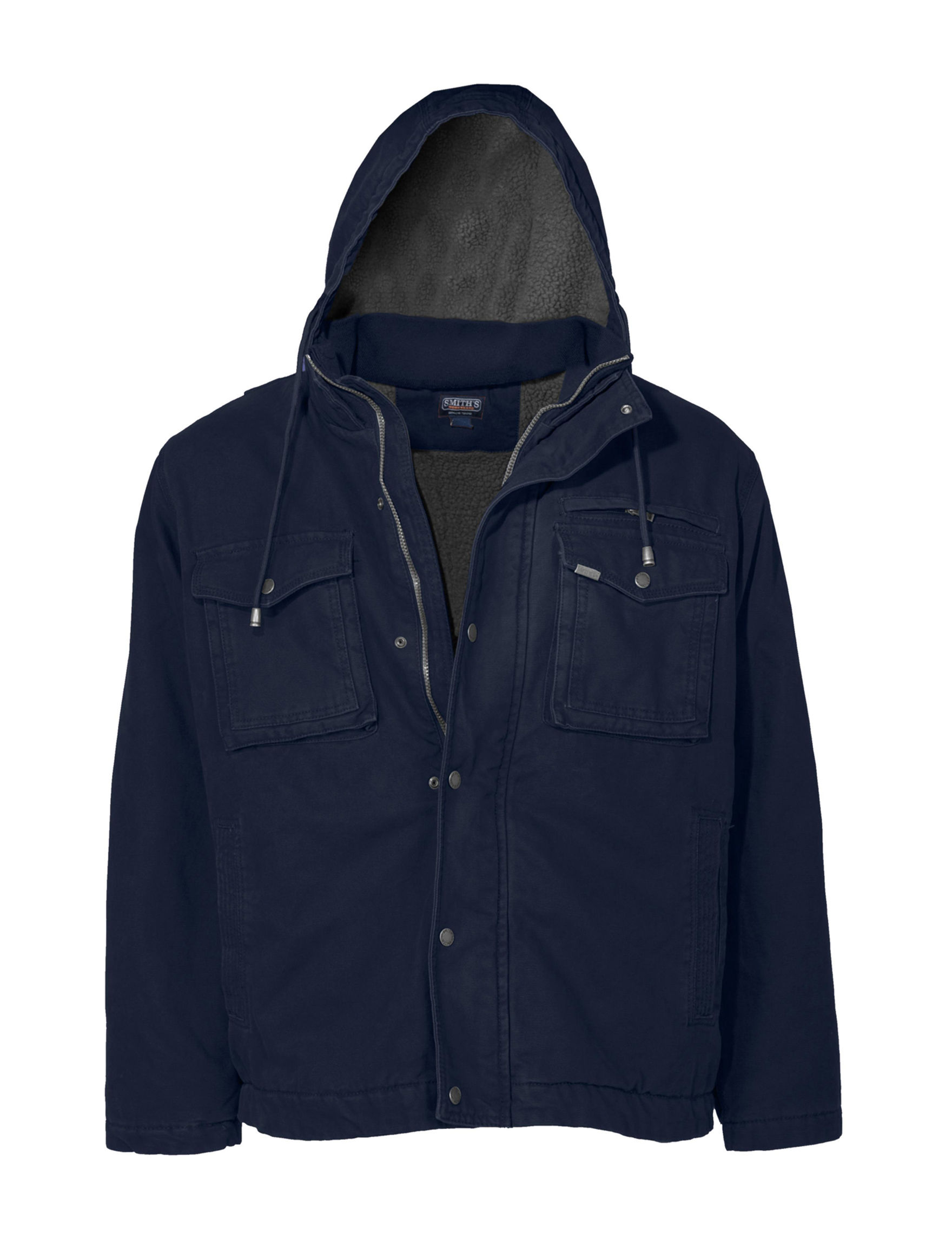 Smith's Workwear Dark Blue Insulated Jackets