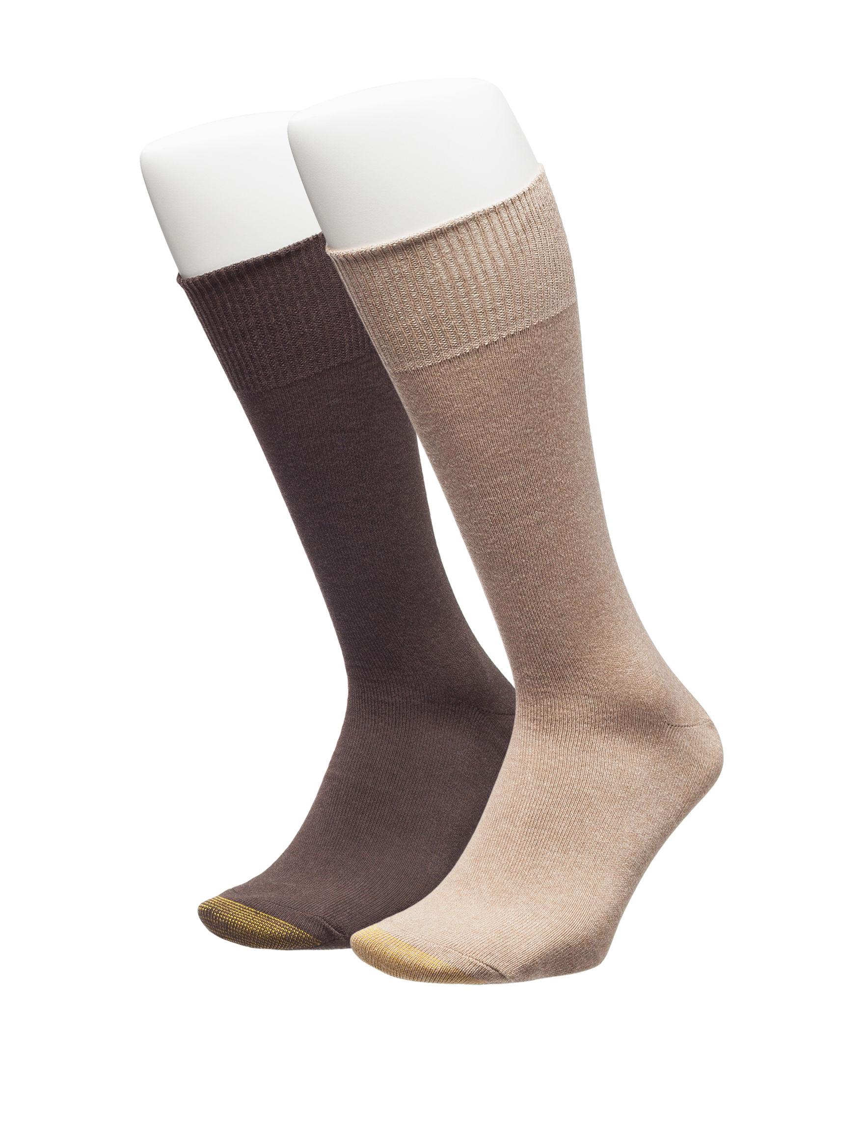 Gold Toe Ivory Socks