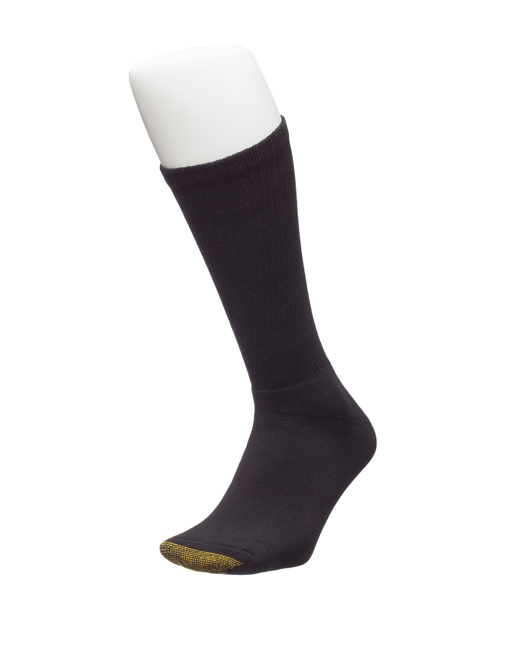 Gold Toe Black Socks