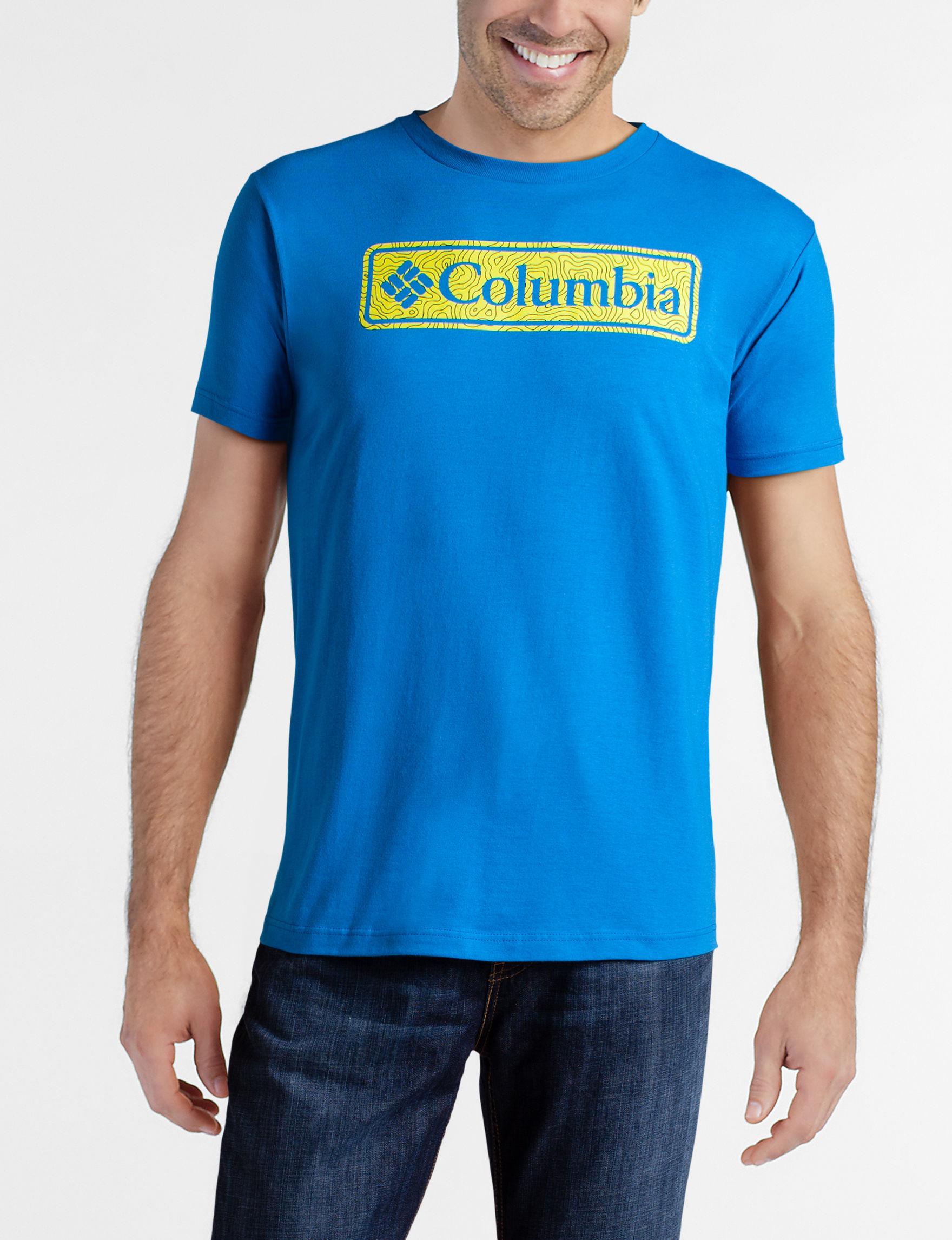 Columbia Hyper Blue Tees & Tanks