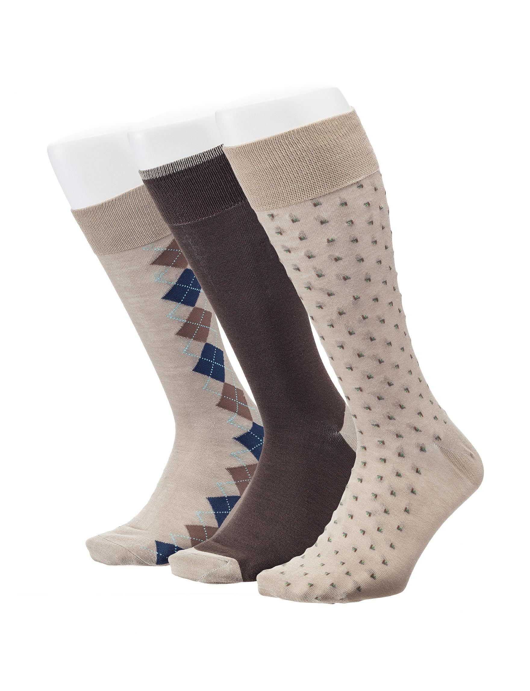 Ivy Crew Ivory Socks