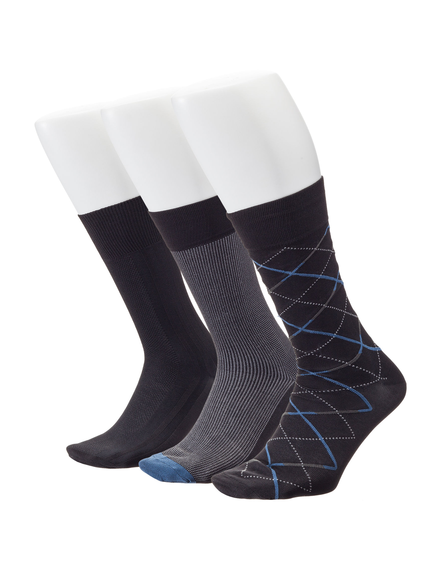 Ivy Crew Black Socks