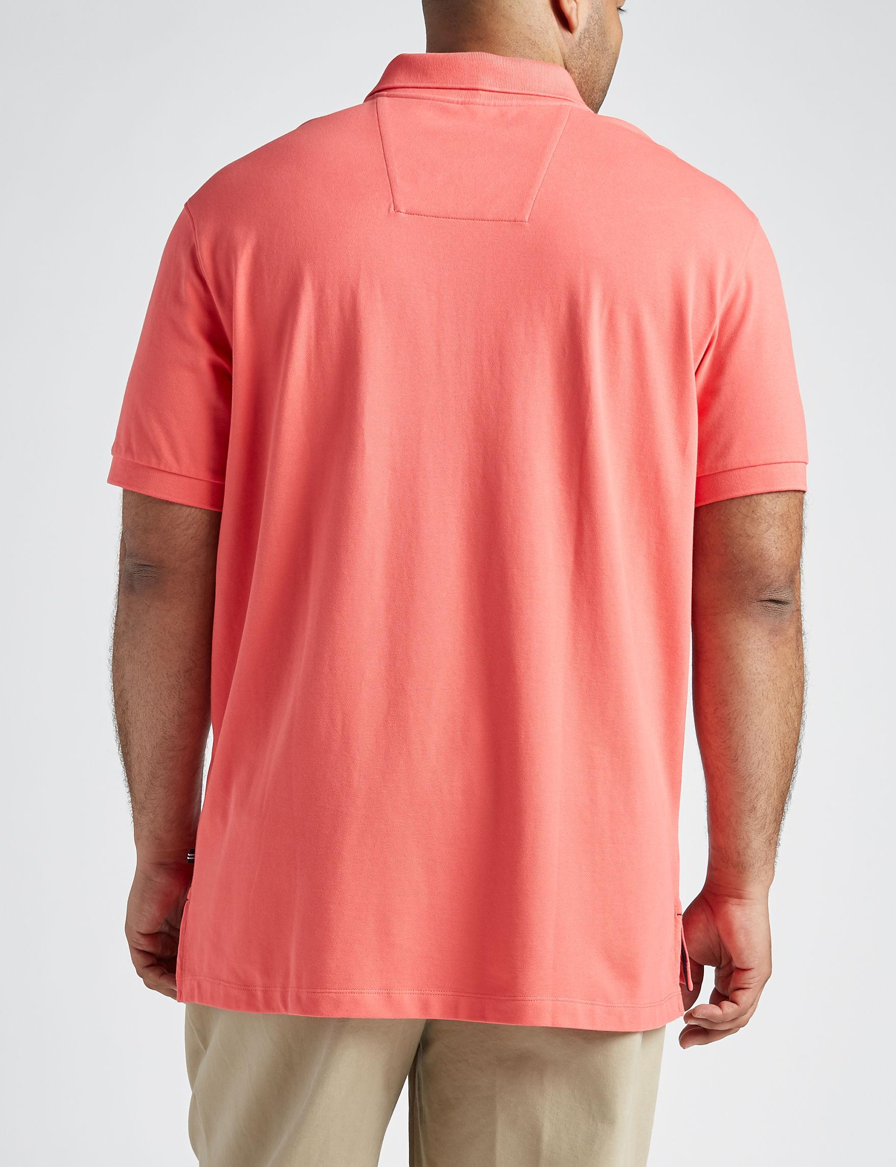 6510cd35f Nautica Big   Tall Stretch Pique Polo Shirt