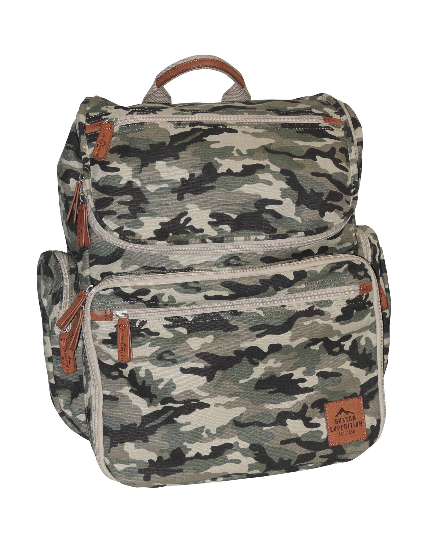 Buxton Camo Bookbags & Backpacks