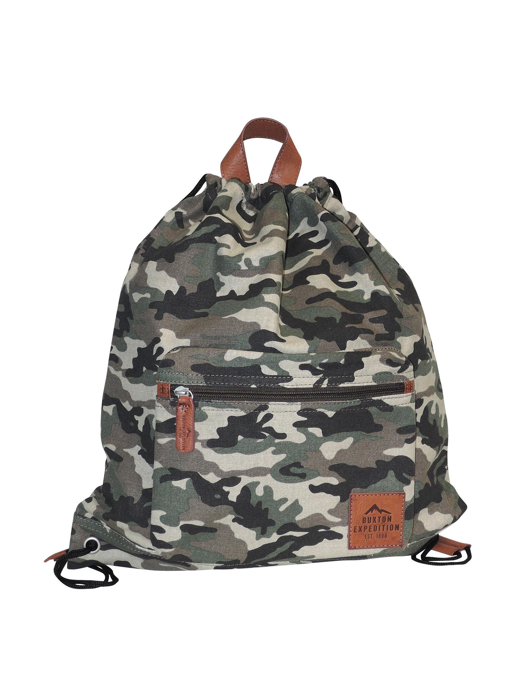Buxton Camo Bookbags & Backpacks