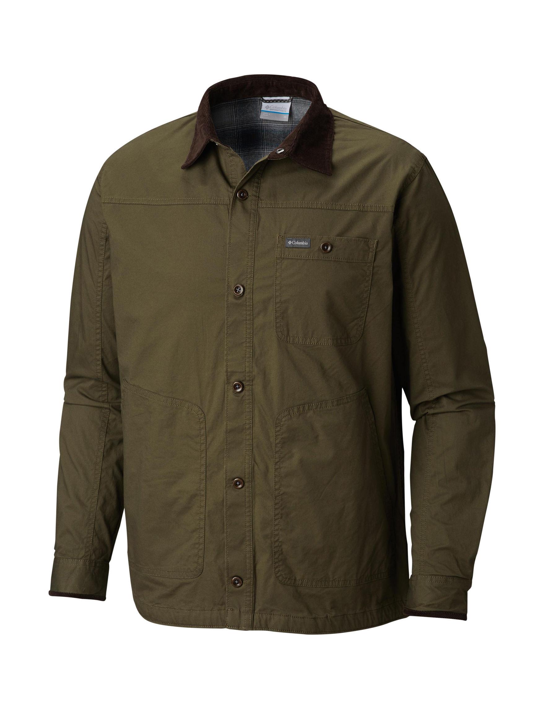 Columbia Brown Lightweight Jackets & Blazers