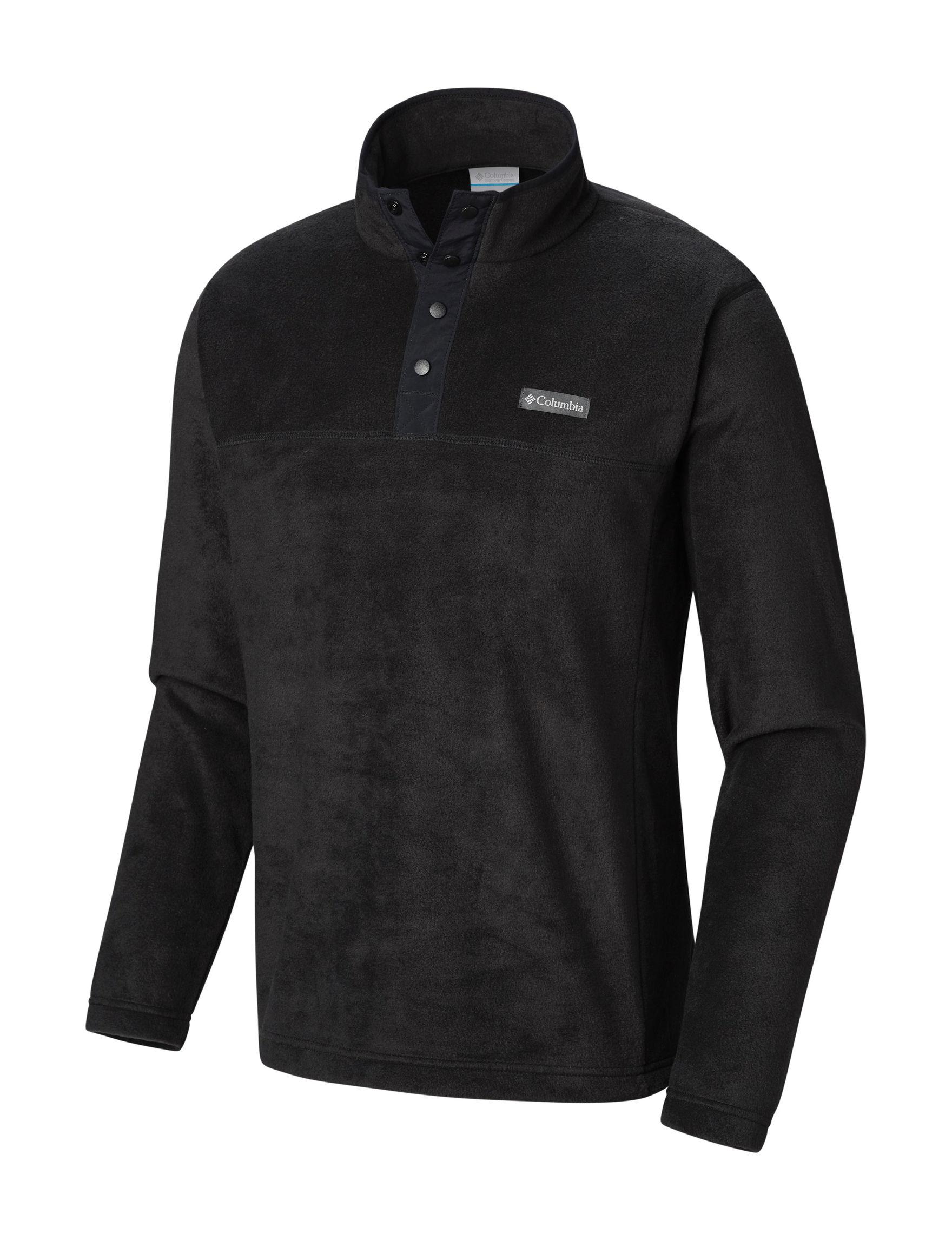 Columbia Black Fleece & Soft Shell Jackets