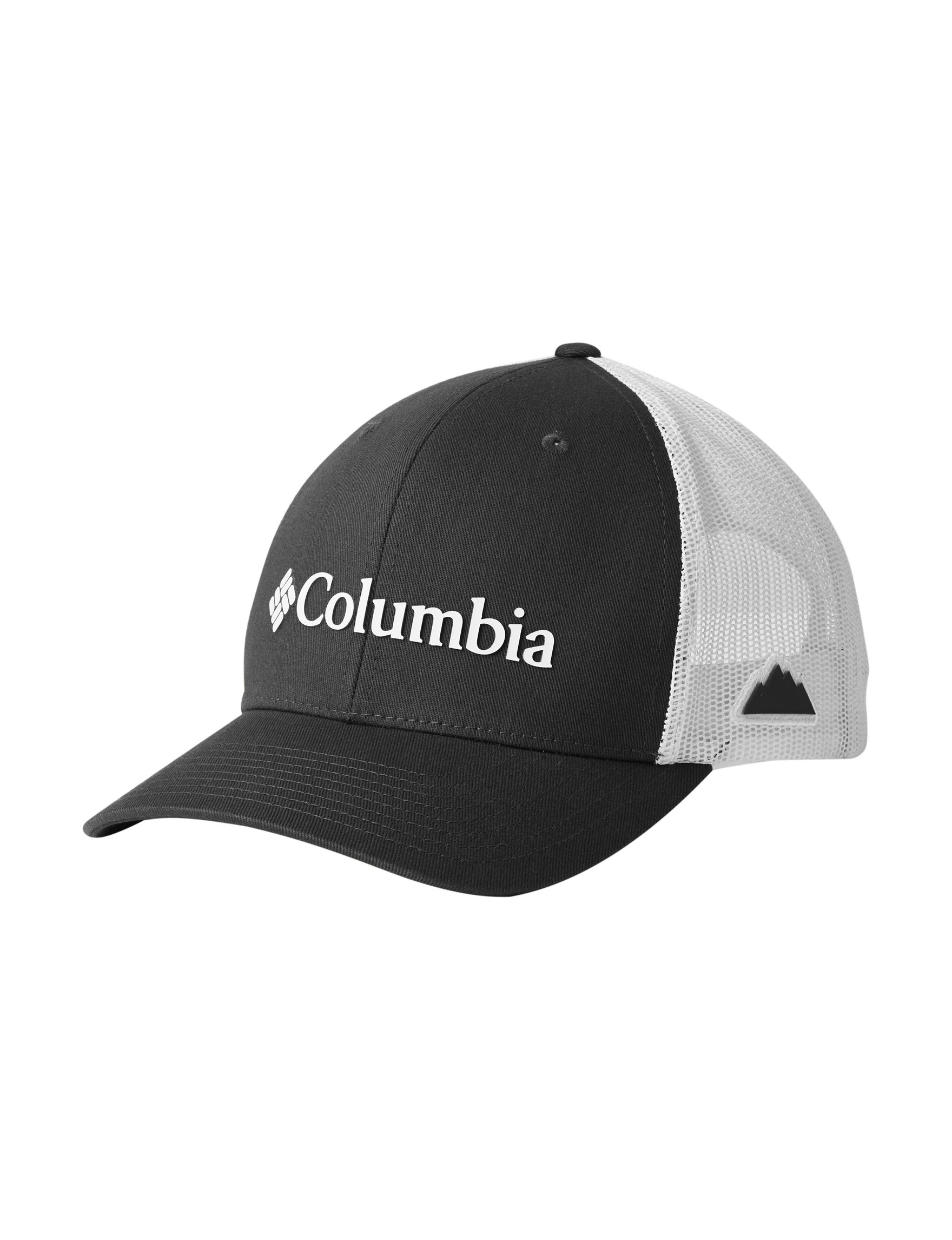 Columbia Black / Grey Hats & Headwear