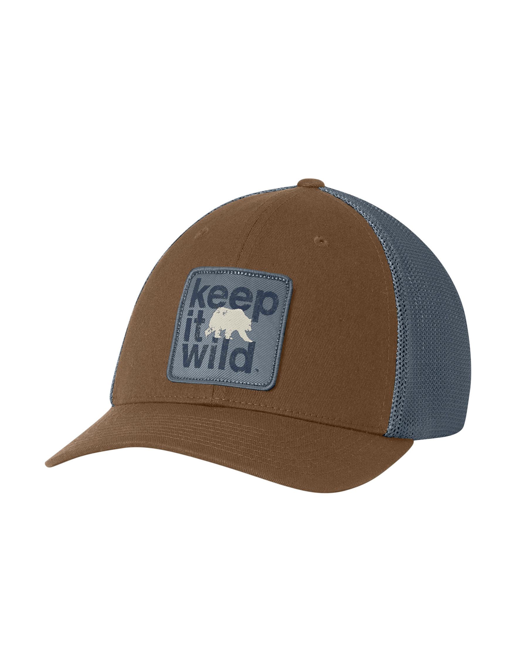 Columbia Brown / Grey Hats & Headwear