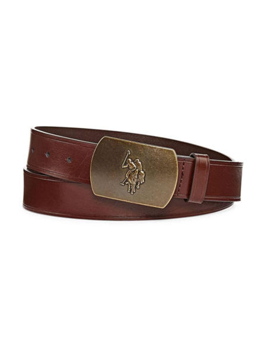 U.S. Polo Assn. Brown