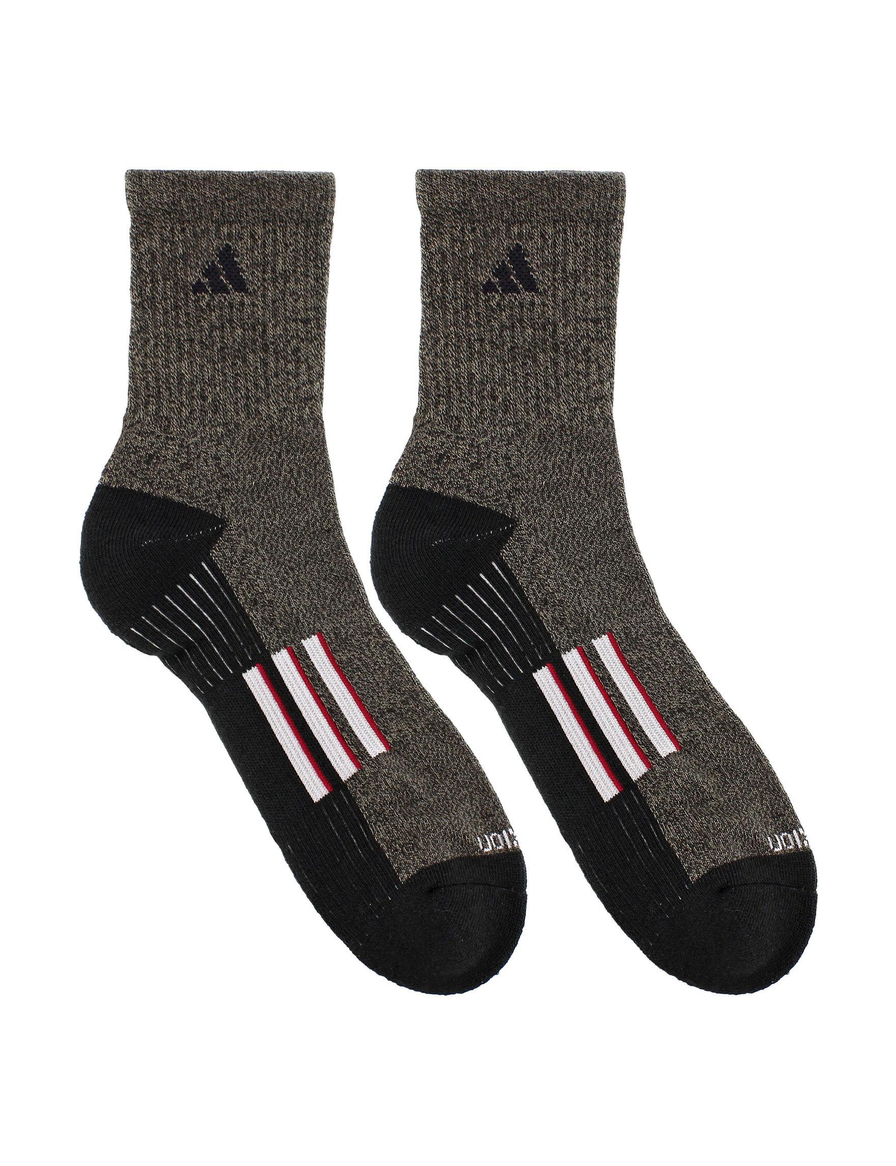 Adidas Black Heather Socks
